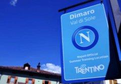 Napoli in ritiro a Dimaro