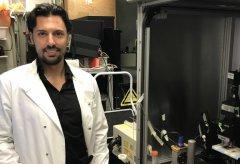 Luca Annecchino, studente Unisannio nel team di ricerca sui neuroni condotto con i robot