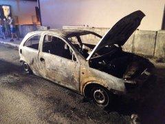 Incendio auto Valle Caudina