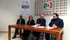 PD. Del Basso De Caro con il segretario cittadino Giovanni De Lorenzo e il segretario provinciale Carmine Valentino