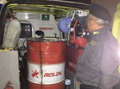 Caserta. Sequestrati 1000 litri di gasolio di contrabbando, 2 denunce