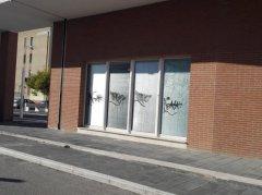 Spina Verde, Auditorium: di nuovo i vandali