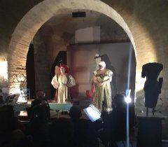 Museo Arcos. Ensemble Le musiche da camera, spettacolo Morano e Rosicca