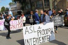 Protesta lavoratori CMR