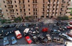 Via D'Amelio dopo esplosione. Foto: Wikipedia