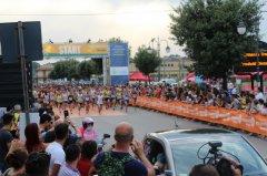 La partenza del 9 Trofeo Telesia