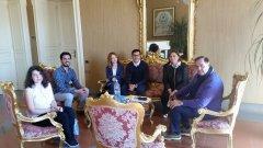 Tirocinanti a Palazzo Mosti