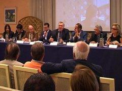 Lions Club - La conferenza stampa all'Hotel President