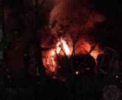 incendio auto Pago Veiano