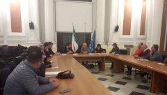 Il prefetto Galeone riceve una delegazione del Comparto estrattivo della Provincia di Benevento: Confindustria, Ance e Sindacati