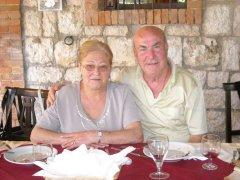 Vincenzo Santamaria e la moglie Larice Pasqualina