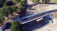 Circolo, il nuovo ponte sul torrente Tammarecchia