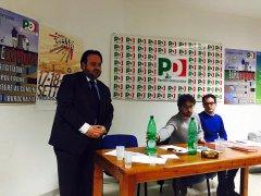 Carmine Valentino con Antonio Iavarone, Assemblea GD. Foto: profilo Fb GD Federazione di Benevento