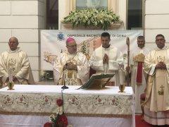 Celebrata al Fatebenefratelli di Benevento il Sacro Cuore di Gesu
