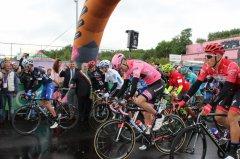 La partenza del Giro da Ponte