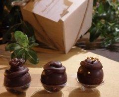 Cioccolatini e Falanghina