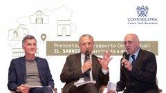 Filippo Liverini con Fulvio De Toma e Antonio Bottiglieri