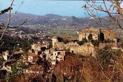 Veduta del centro storico di Limatola