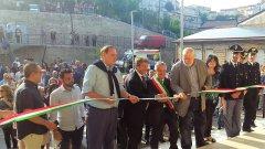 Ricci e Mastella naugurano il Museo della Civilta' Contadina a Montefalcone Valfortore