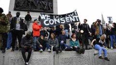 La protesta contro il lockdown