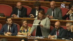 La senatrice M5S Danila De Lucia