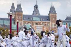 #Fencingmob - Foto tratta da Facebbok