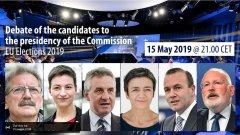 Elezioni Europee 2019. Dibattito dei candidati alla presidenza della Commissione