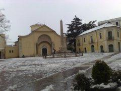 Neve piazza Santa Sofia