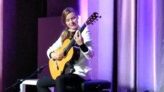 Chitarrista bielorussa Tatyana Ryzhkova