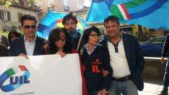 Protesta sindacati Arcos