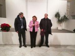 Incanto di Natale 2018 a Palazzo Paolo V. Il prefetto Antonio Cappetta con Rossella Del Prete e Clemente Mastella