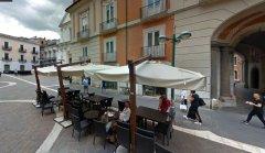 Benevento. Dehors lungo Corso Garibaldi