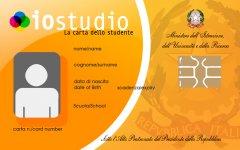 Carta dello Studente IoStudio - Miur / PostePay