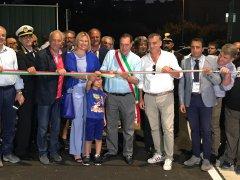 Stadio Ciro Vigorito. Inaugurata la strada di collegamento con il settore Distinti