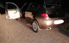 Auto abbandonata dai ladri