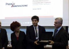 Stefano Fabrizio con Moretti e Fedeli
