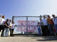 Lavoratori ex Consorzi (foto di archvio)