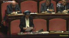 Discussione parlamentare - Emma Bonino