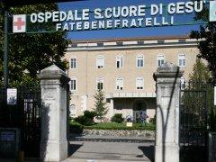 L'Ospedale Fatebenefratelli Sacro Cuore di Gesù