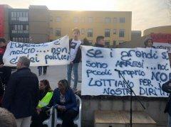 Protesta Ospedale S. Agata