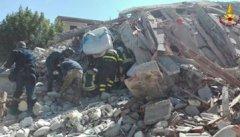 Terremoto Italia Centrale - Foto: Vigili del Fuoco