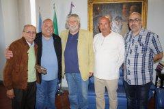 Delegazione maltese in visita alla rocca dei rettori