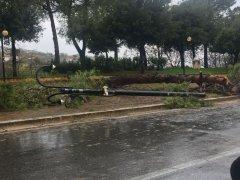 Danni causati dal maltempo a S. Giorgio del Sannio