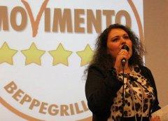 Francesca Maio, M5S. Foto tratta dal profilo facebook