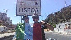 Giuseppe e Giovanna a Lisbona