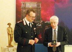 Il Col. Vasaturo ed il Sostituto Procuratore Iannella