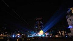 Torino. Spettacolare: 302 droni luminosi in volo per festeggiare il Santo Patrono