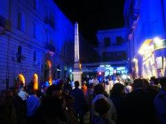 Inaugurazione illuminazione Obelisco Egizio in Piazza Papiniano