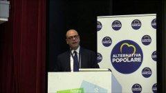Angelino Alfano: Alternativa Popolare corre sola