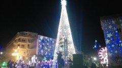 Albero di Natale a Piazza Castello (2017)